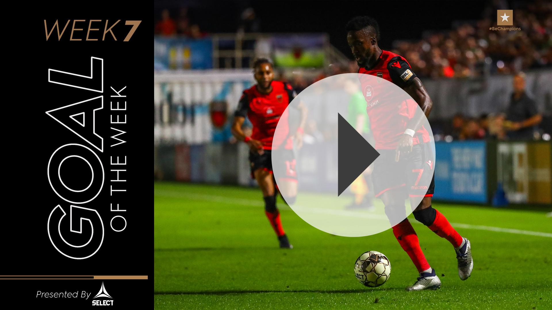 USL Championship Fans' Choice Goal of the Week – Week 7