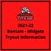 2021-22 Bantam, Midgets & U18 Tryout Information