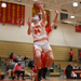 John Seidman drives to the basket for a layup
