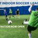 adult indoor soccer registration open co-ed and mens