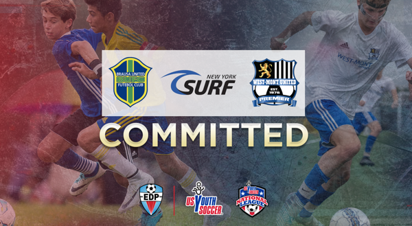 brausa ny surf west mont united commit to play in us youth soccer national league edp conferences for 2018 19
