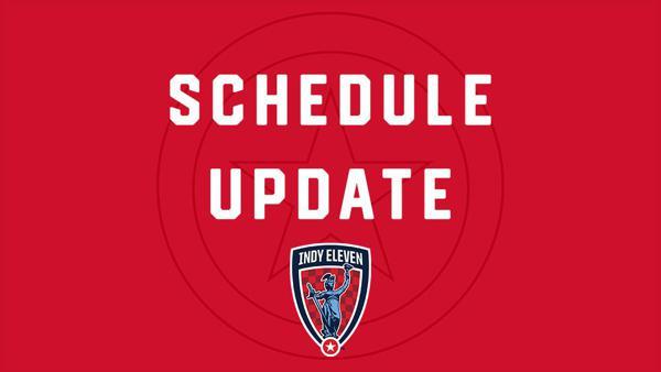Indy Eleven To Change Three Dates On Usl Championship Schedule