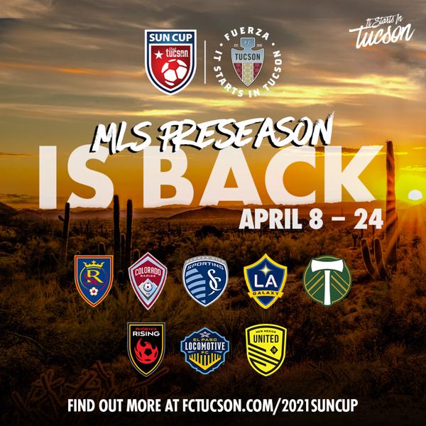 FC Tucson Announce 2021 Visit Tucson Sun Cup & Preseason Participants