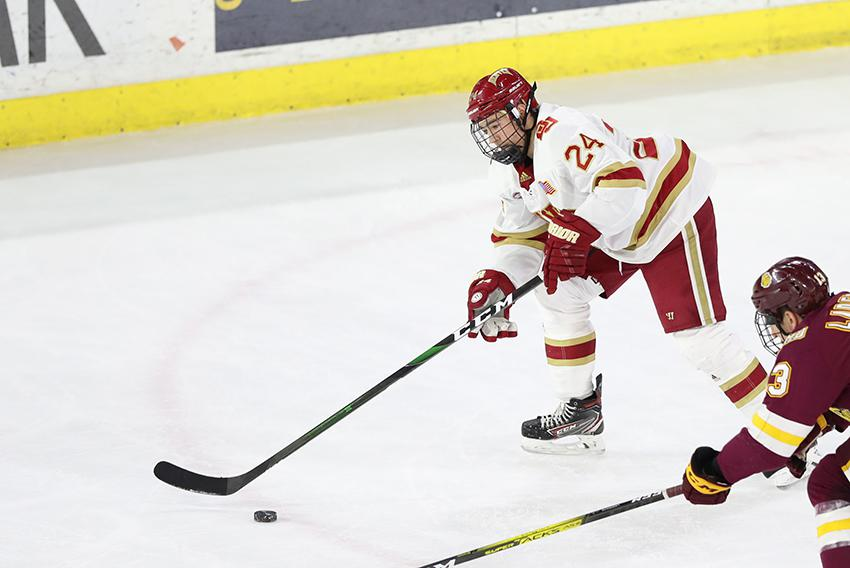 A handful of early departures, including the team's top two scorers, leaves the door open for a player like Brink to take on an expanded role with the Pioneers this year.