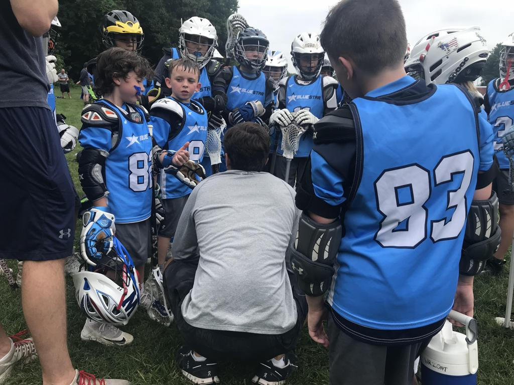 Steve Sanczyk Coaching Blue Star Lacrosse