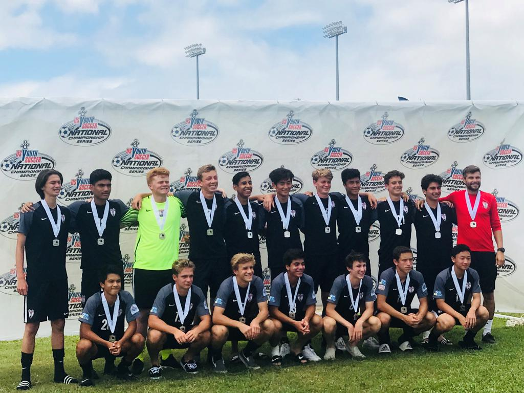 STRIKERS FC SOUTHBAY 2000 GOLD TEAM 2018 FAR WEST REGIONAL FINALIST!