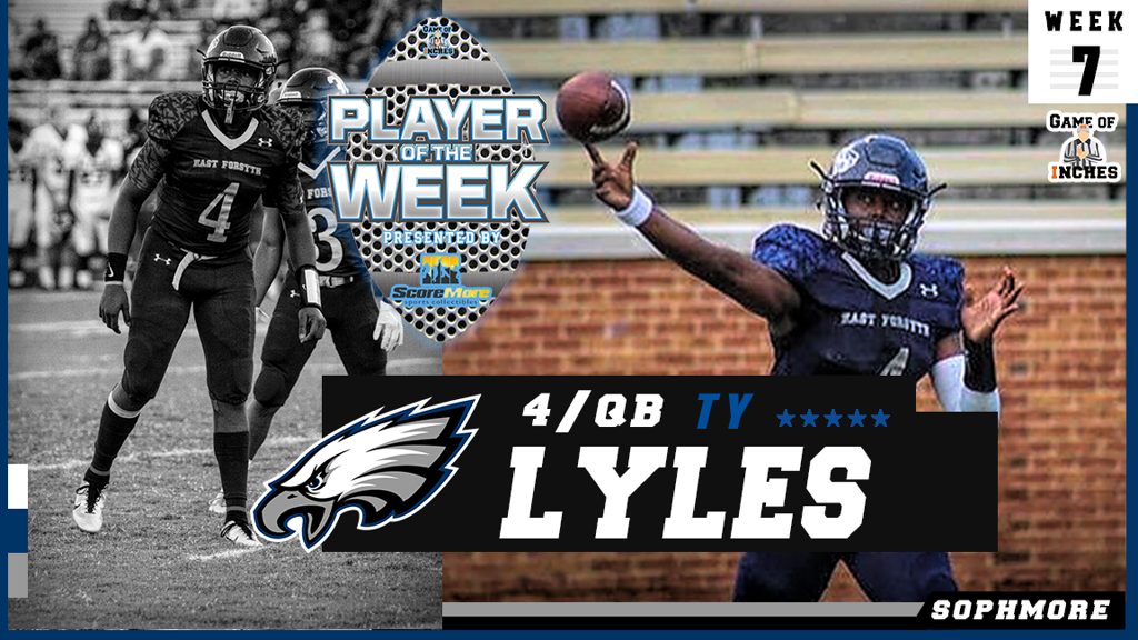 Ty Lyles Player of the Week (Week 7)