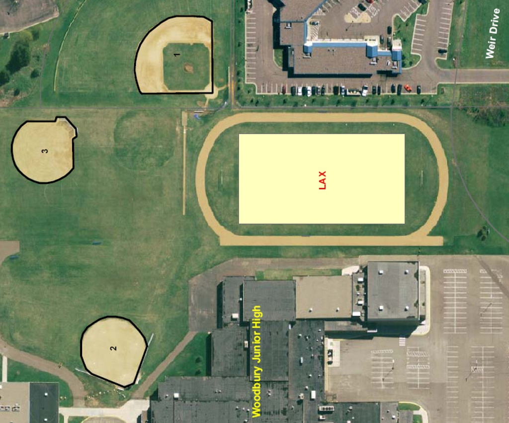 East Ridge High School Woodbury http://www.eraamn.com/page/show/61015-eraa-field-directions