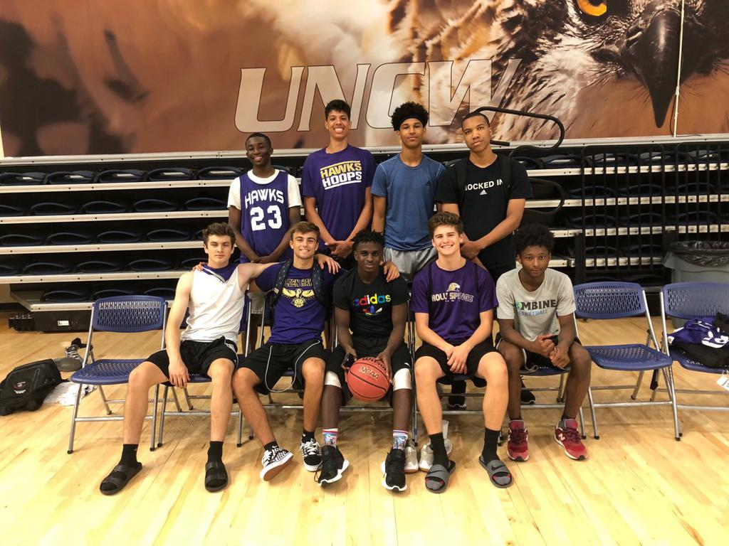 June 2018 -- Team Camp at UNCW