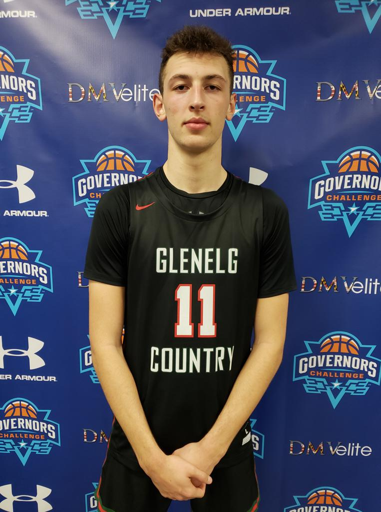 Glenelg Country (Md.) 2022 wing Noah Batchelor. [MARCUS HELTON]