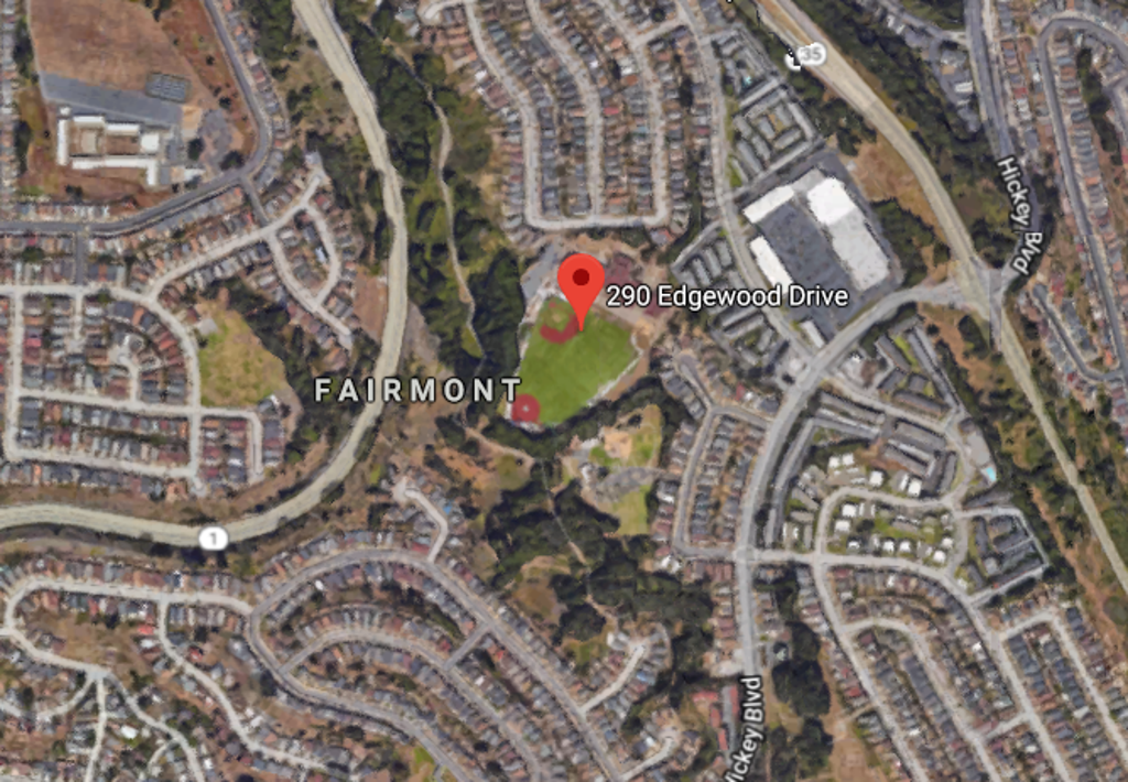 Fairmont field in Pacifica