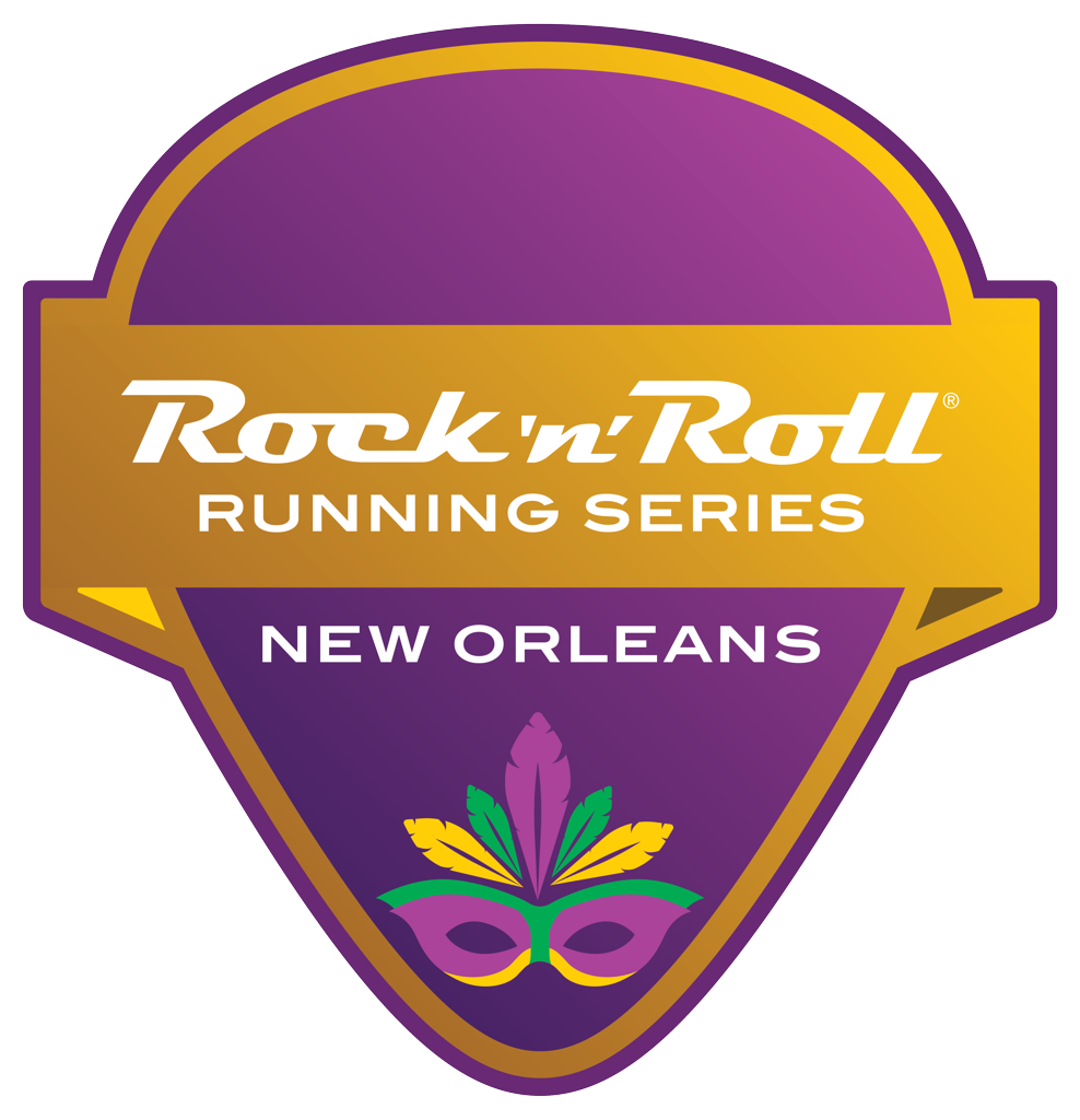 Rock 'n' Roll New Orleans pick logo