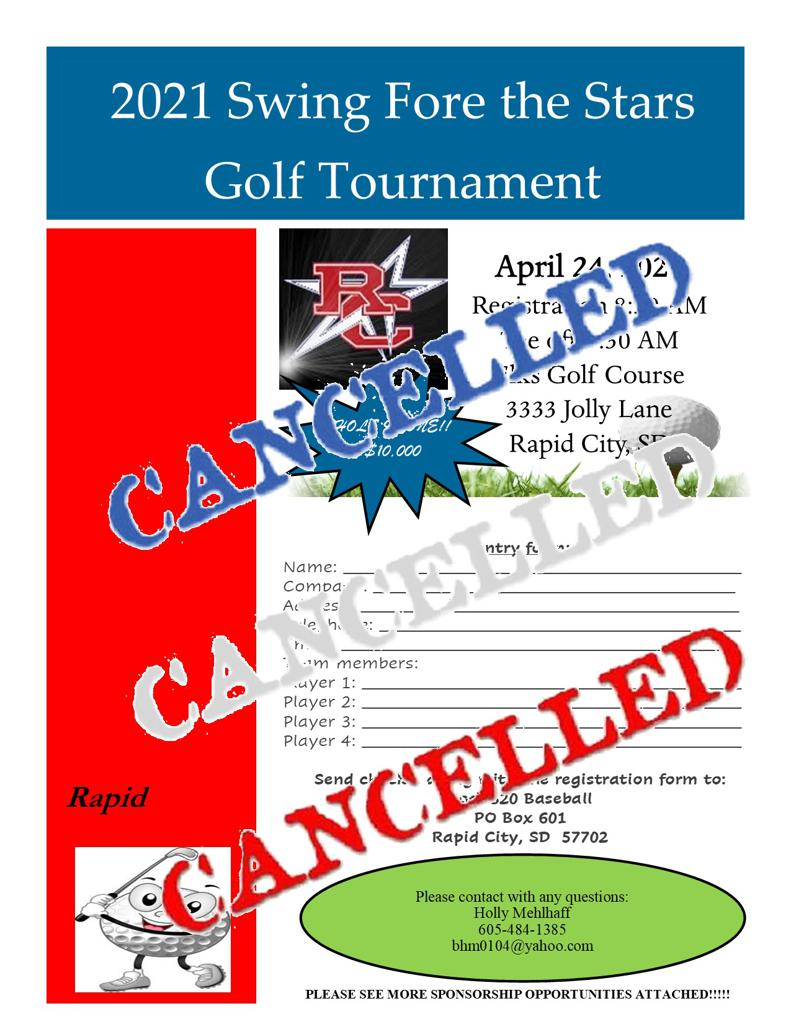 2021 Golf Tournament - !!Cancelled!!!