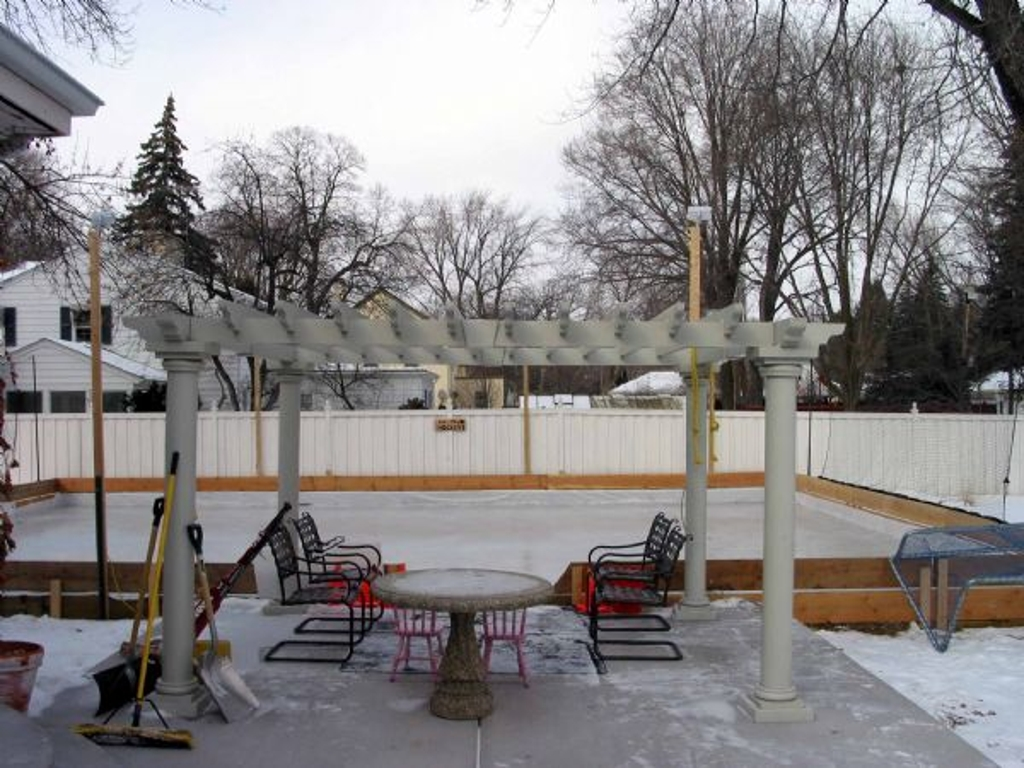 backyard rinks