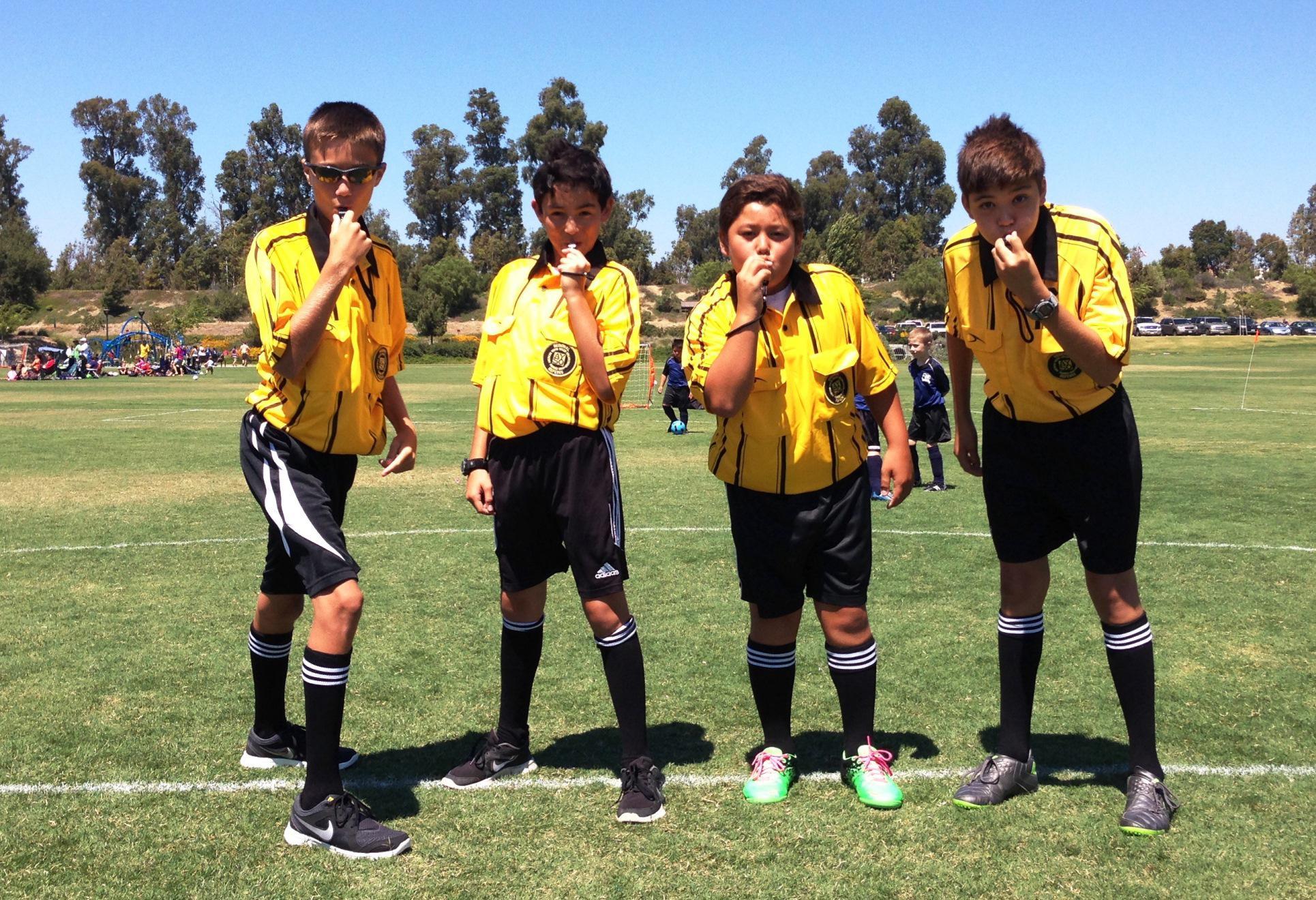 Referees Corner