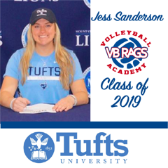 Jess Sanderson - Team VB RAGS Class of 2019
