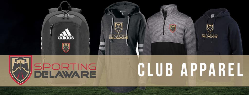 Sporting Delaware Soccer Club - Club Apparel