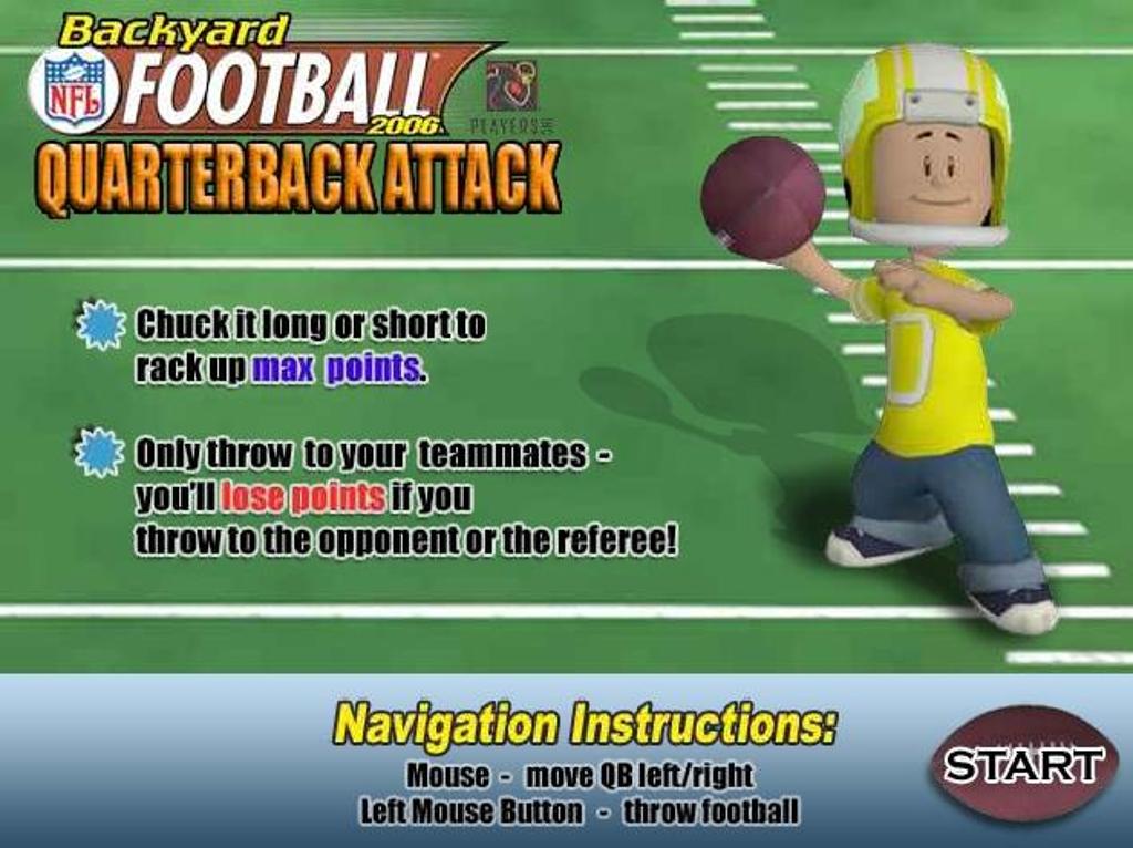 Backyard Football Online Free online football games
