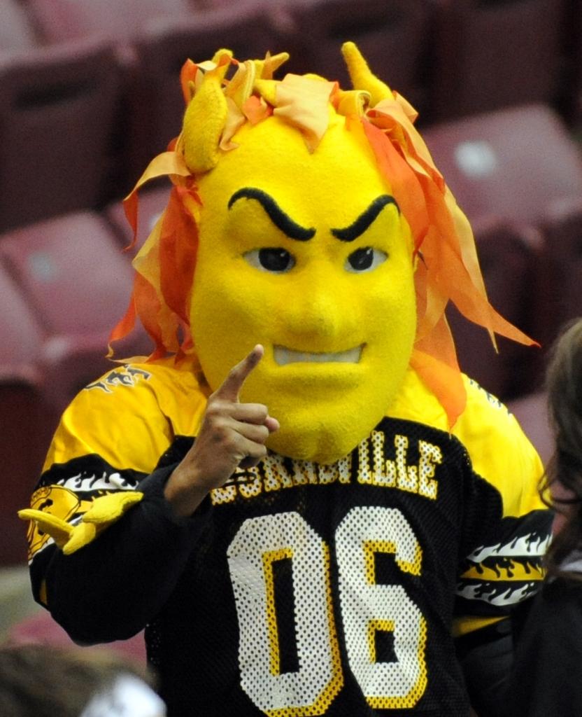Blazers Mascot: Burnsville Vs. Edina