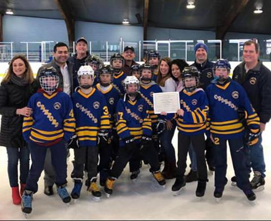 Cranford Hockey Club's Teams Help Union County Adaptive Skate at Warinanco