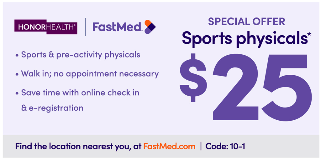 UrgentMed Sports Physical Discount