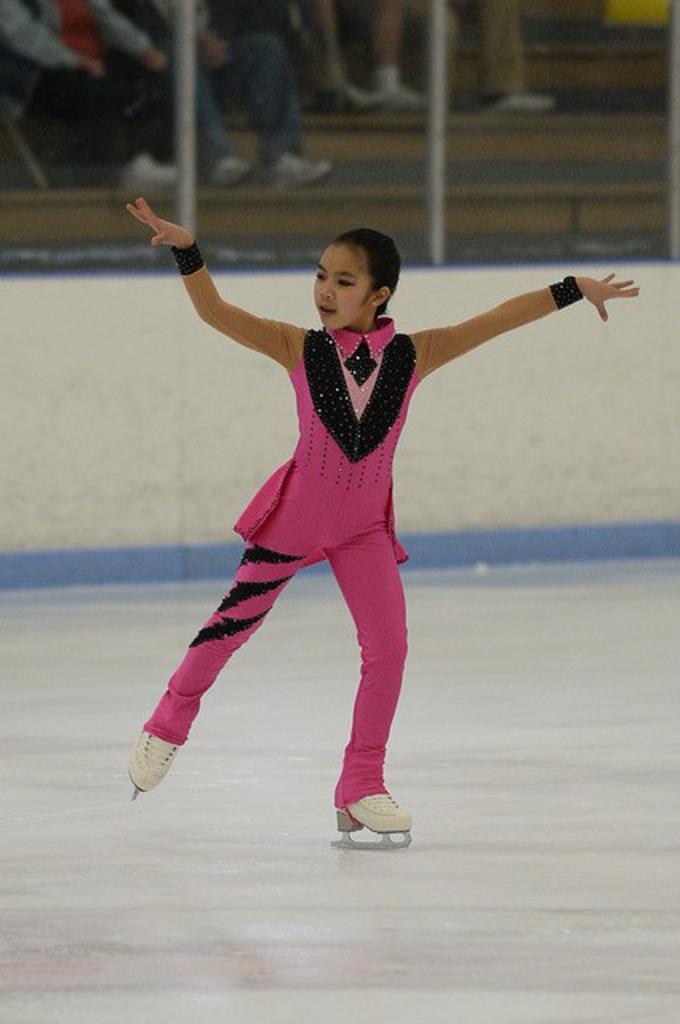 Gymnastic Costume Child Size 14 Winter Sports Figure Skating
