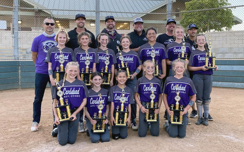 Congrats to Carlsbad 10U Gold — 2nd Place Finish — 2021 Fountain Valley Tournament