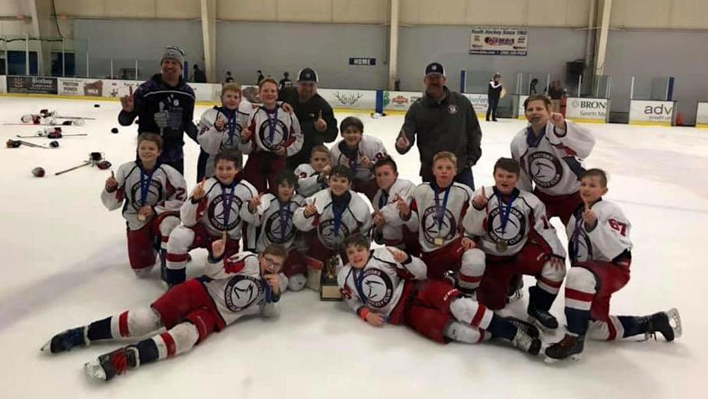 District 6 Champions Fox Motors Pee Wee A 07