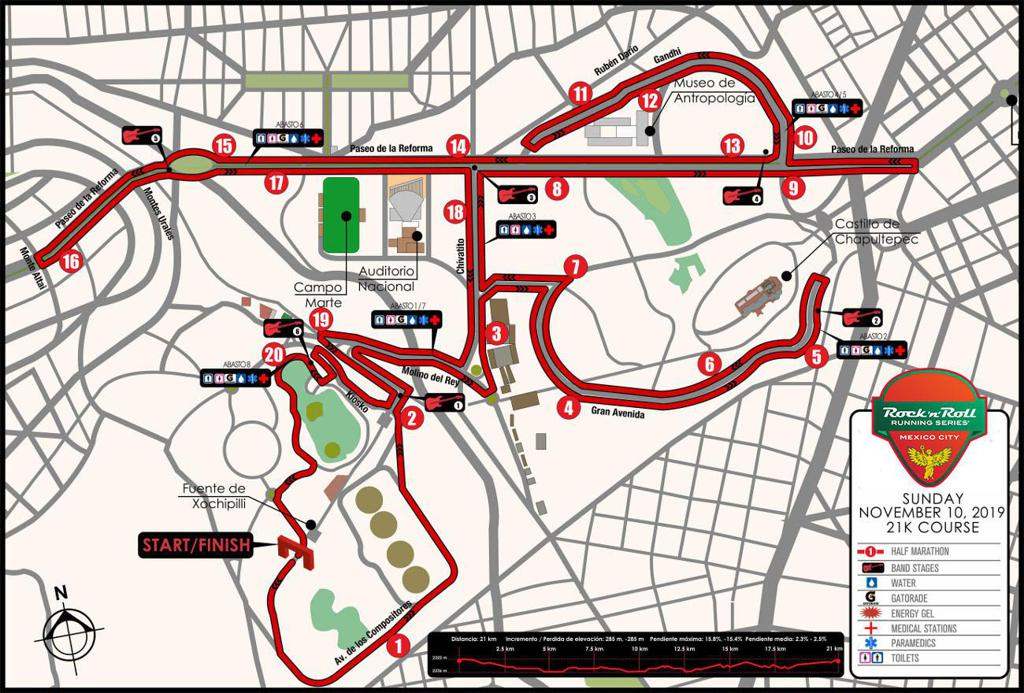 "Rock ""n"" Roll Marathon Mexico City"