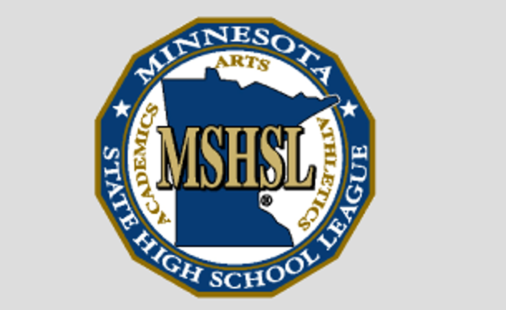 Minnesota State High School League logo. MSHL provides educational opportunities for students through interscholastic athletics and fine arts programs, and provides leadership and support for member schools.