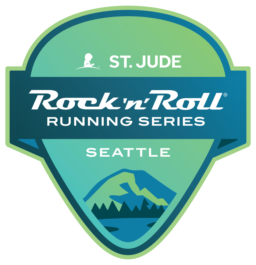 Rock 'n' Roll Seattle Guitar Pick logo