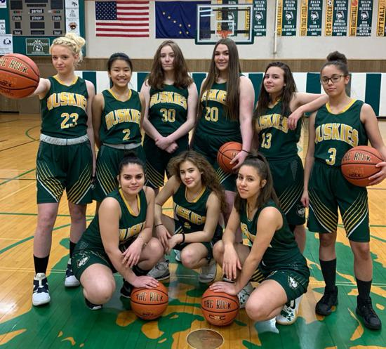 2020 Delta Lady Husky Basketball Team