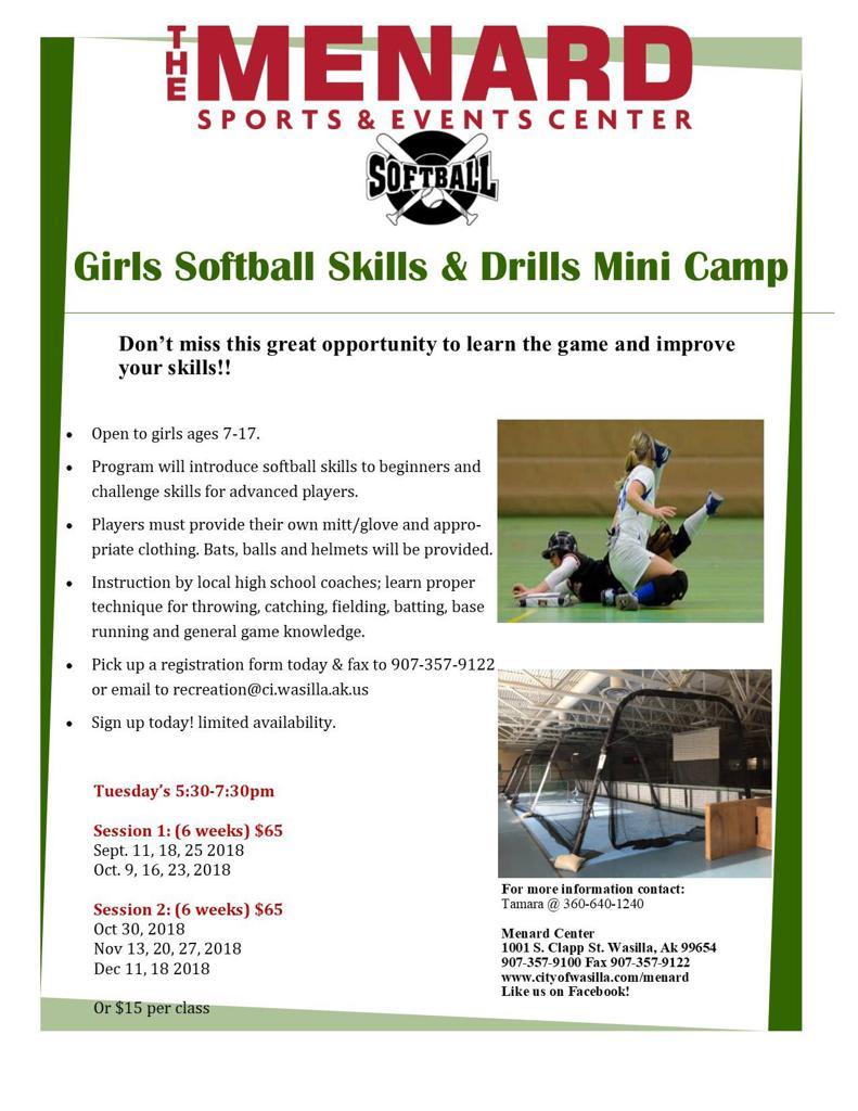 Softball Clinics!