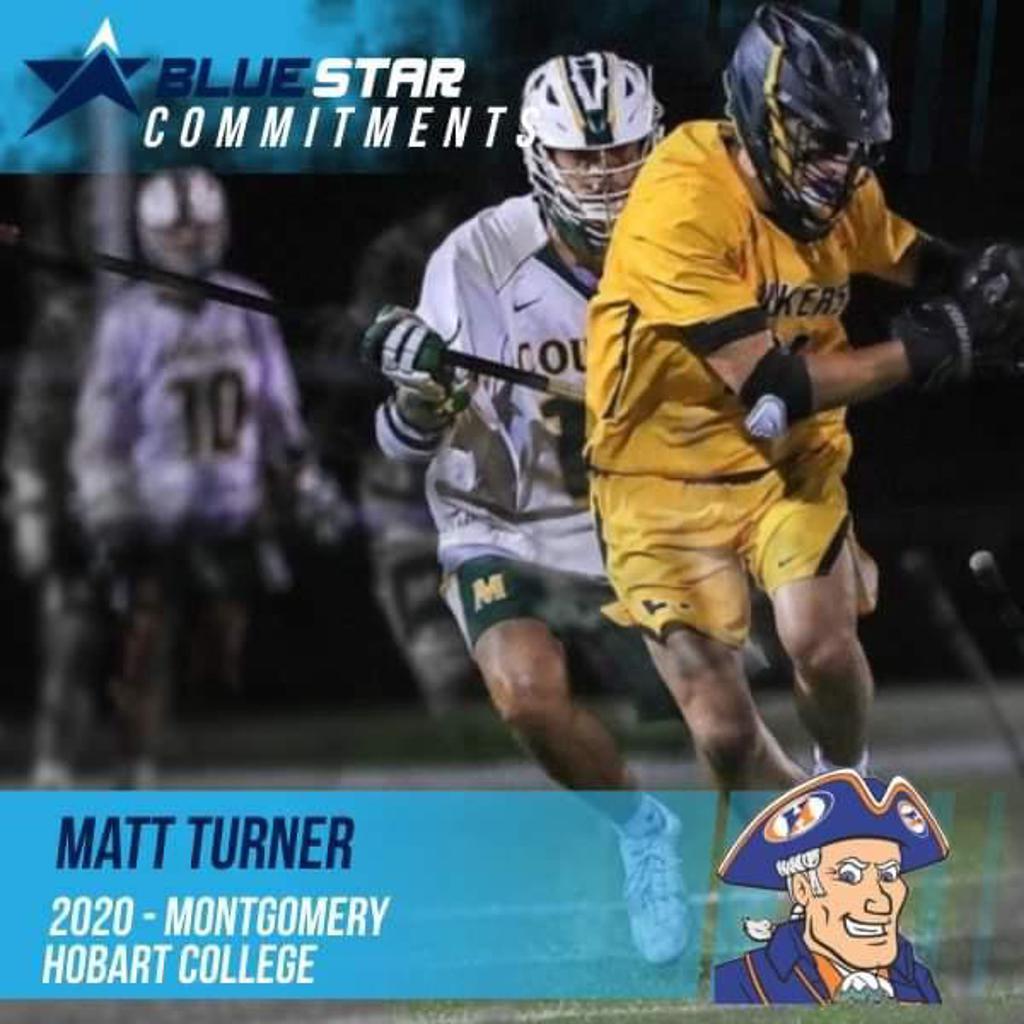 Matt Turner Hobart Blue Star Lacrosse Montgomery