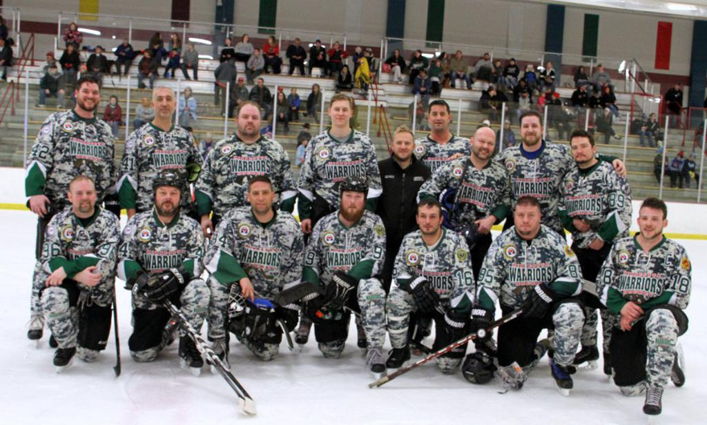 Minnesota Warriors representing the Wounded Warriors division.