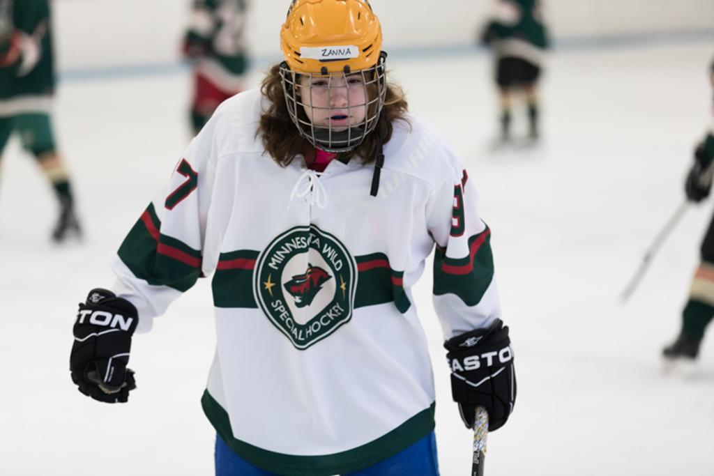 Minnesota Special Hockey representing the special division