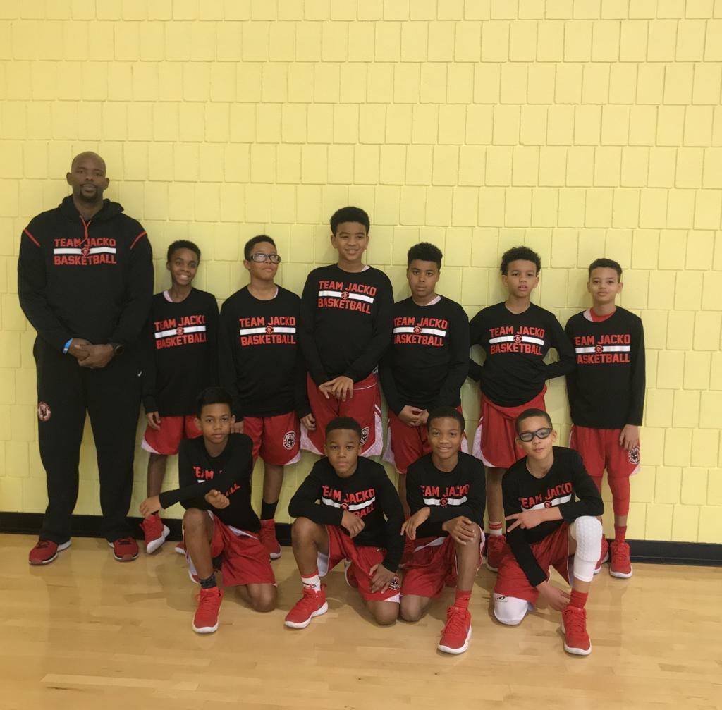 Team Jacko Philly AAU Boys basketball