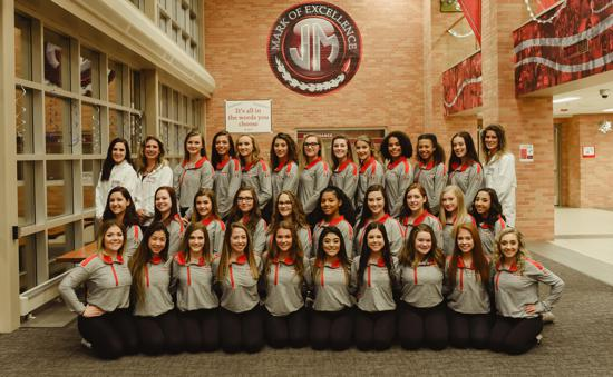 2018-2019 Rockette Dance Team