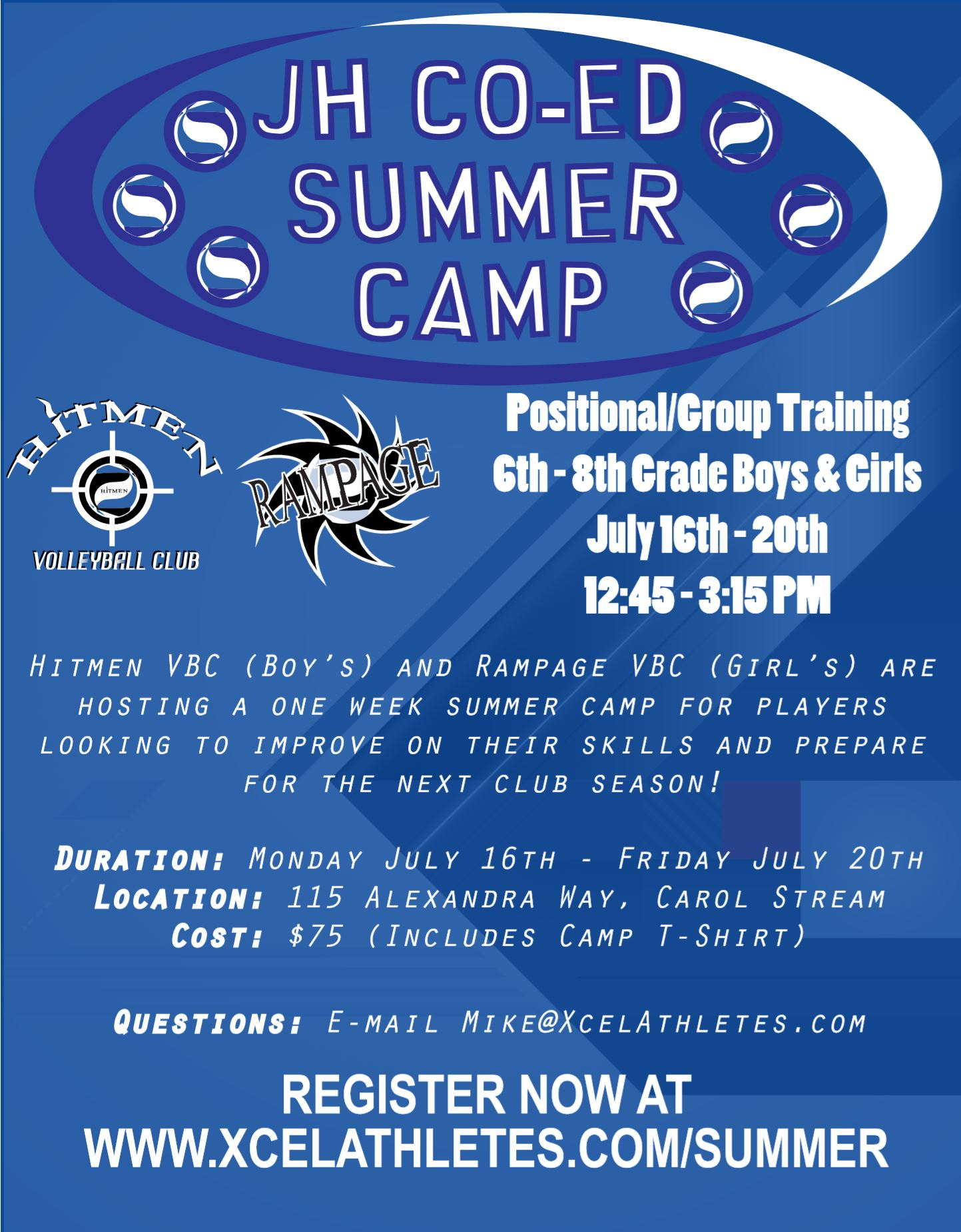 Junior High  Summer Camp