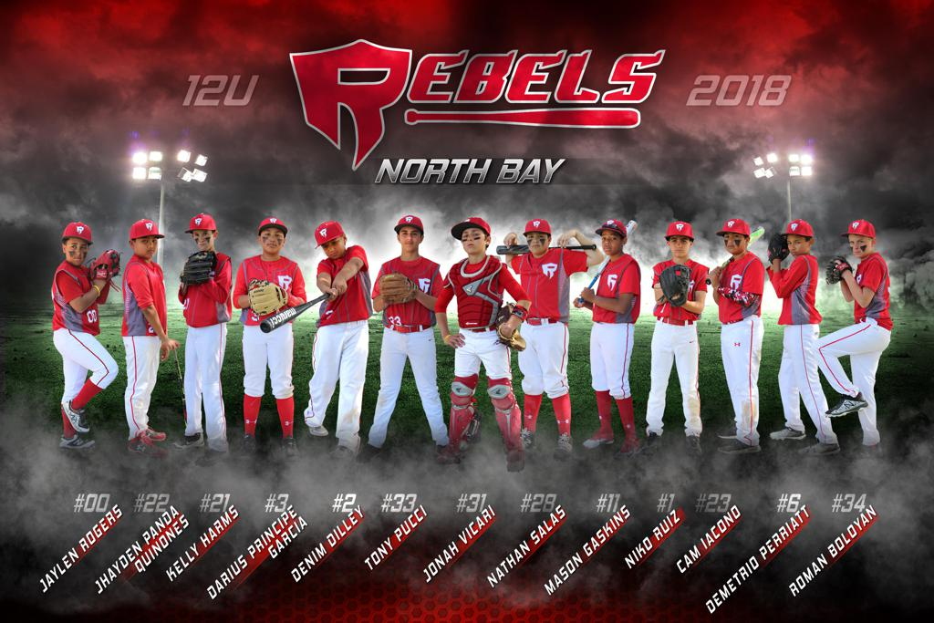 2018 North Bay Rebels 12u