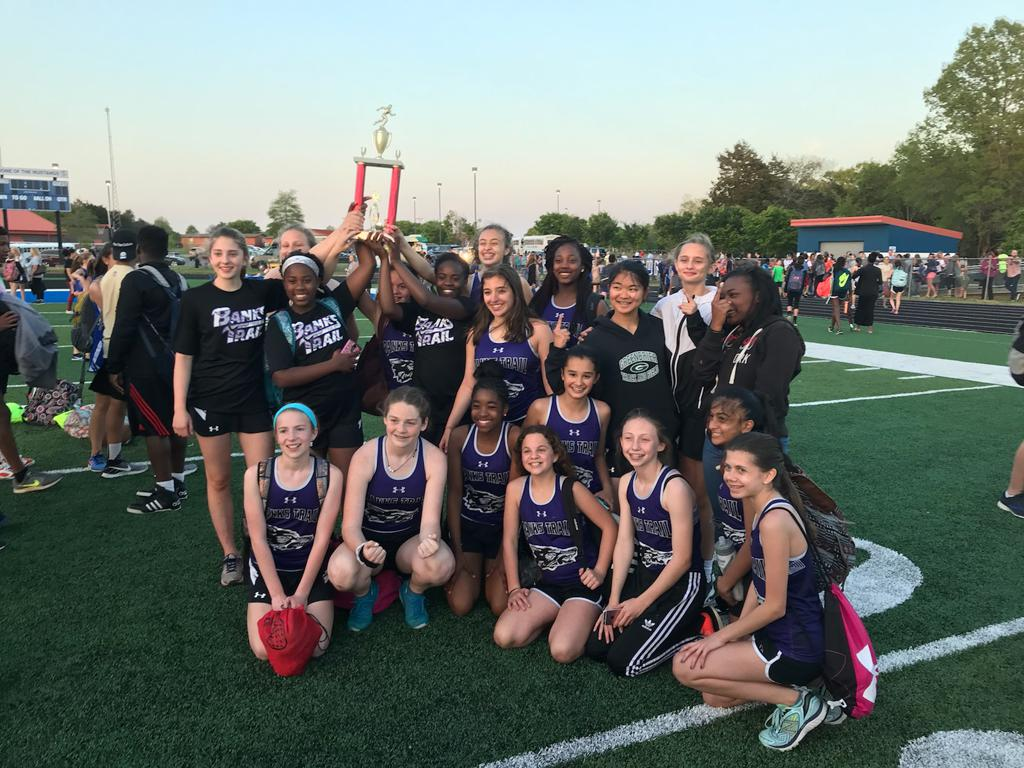 Girls Track- 2018 Conference Champs