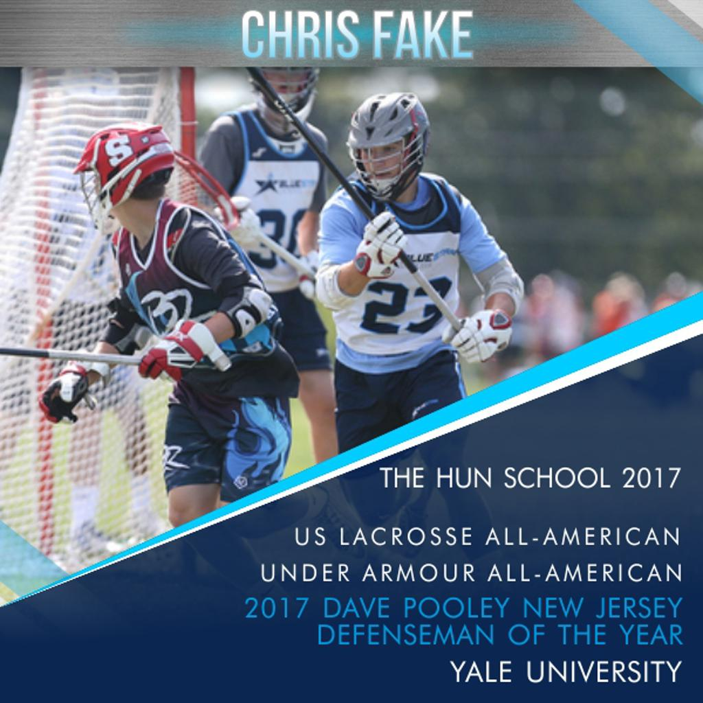 Blue Star's Chris Fake NJ Defenseman of the Year