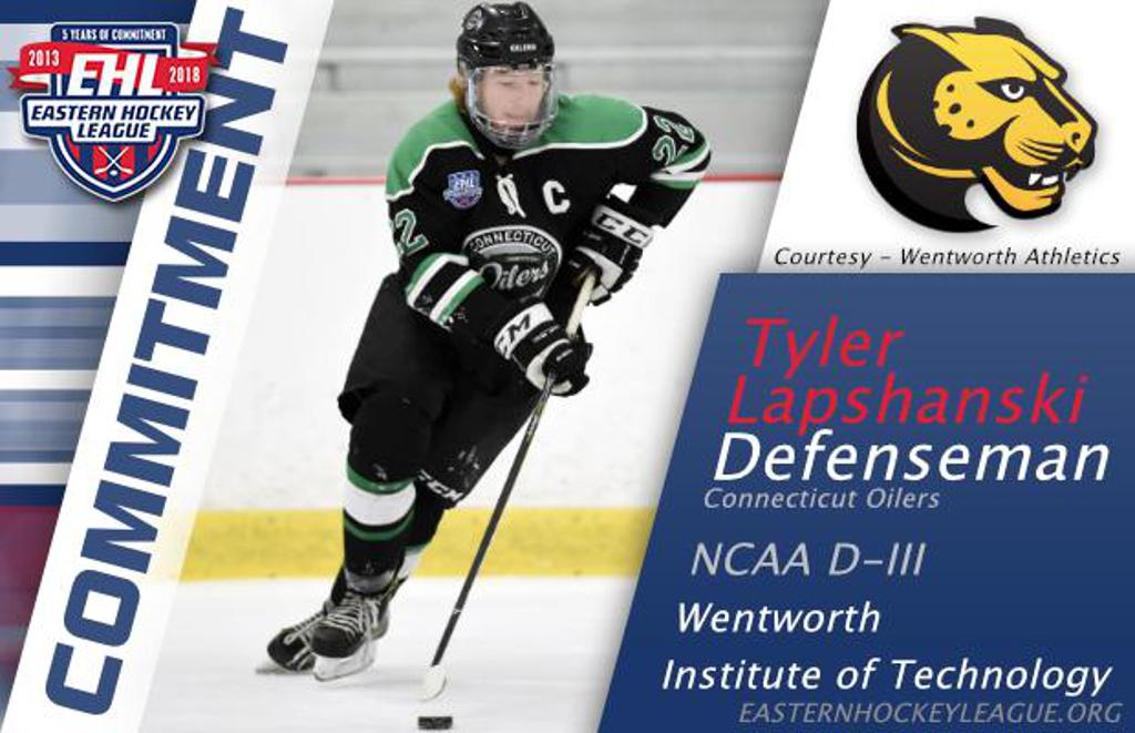 Hockey Techniques Coach Tyler commits to NCAA Wentworth College