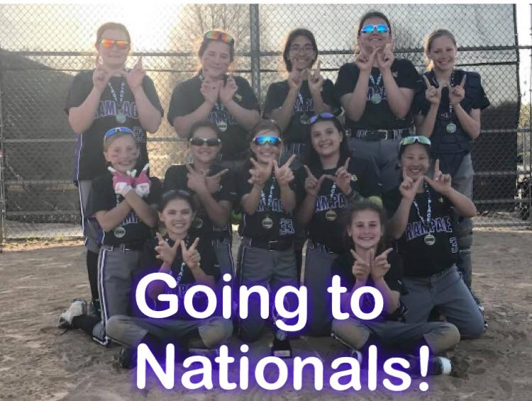 11u Rampage Qualifies for Nationals!
