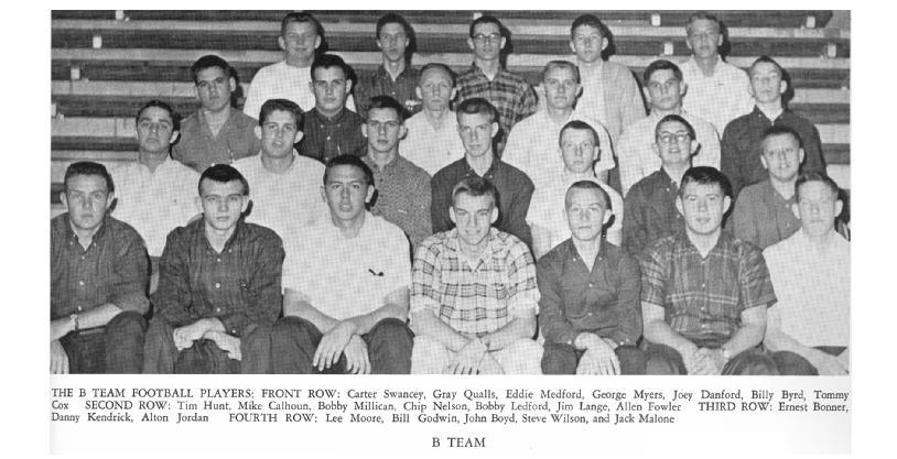 1963 Football Season