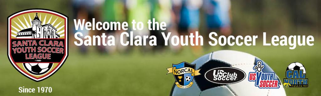 Santa Clara Youth Soccer League Recreational Soccer Program