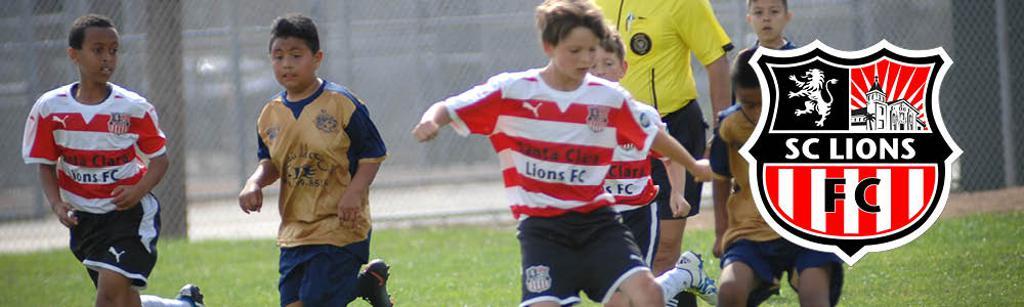 Santa Clara Lions FC Competitive Soccer Program