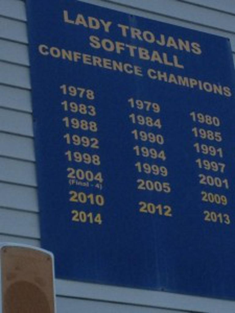 softball conference championship banner