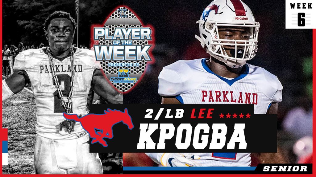 Lee Kpogba Player of the Week (Week 6)