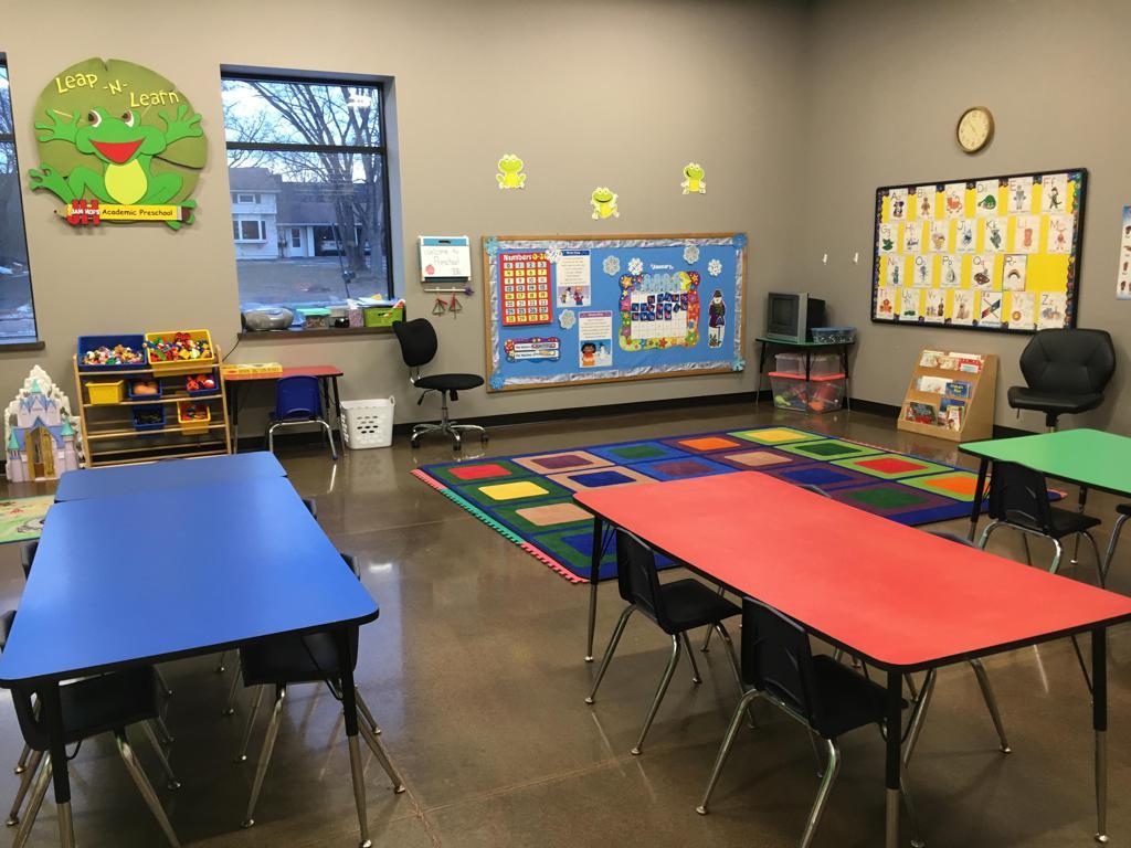 Leap-N-Learn preschool room